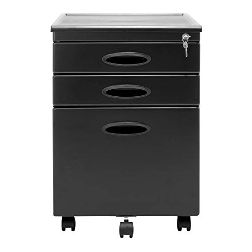 (Calico Designs File Cabinet in Pewter)