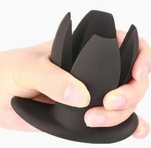 DACHUI Gran Expansor de silicona plug anal Enema Peep hueco ano espéculo Butt plug dilatador,