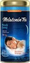 Melatonin Tea Orange Flavor 1 Tin 36 Bags per Tin