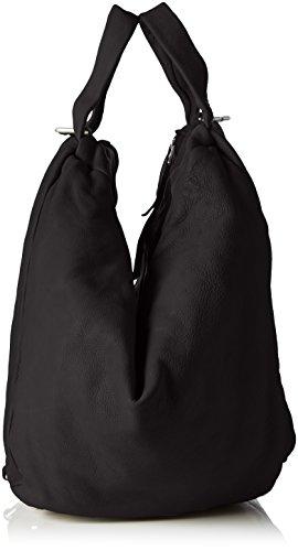 Liebeskind Berlin Toda Blair - Bolso con asas Mujer Negro - Schwarz (ninja black 9998)