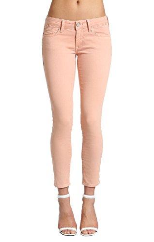 Mavi Serena Ankle Pastel Peach, Pink, 32W X 28L Peaches Low Rise Pants