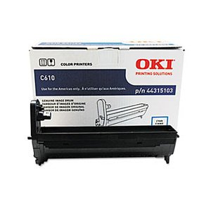 - Okidata Genuine OEM 44315103 Cyan Drum Unit (20K YLD) for C610CDN, C610DN, C610DTN, C610N s