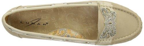Lunar FLH630 - Zapatos sin cordones de sintético mujer Beige - beige