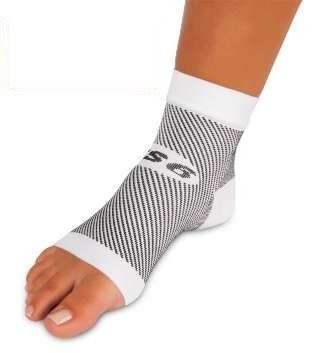 Darco FS6 DSC Plantar Fasciitis Sleeve Zoned Compression Sock, Size L (Men 10-13, Women 11+). by FS6
