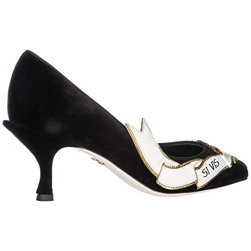 Dolce Noir À Talon amp; Chaussures Femme Gabbana Escarpins Lori wHBqzw