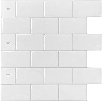 Premium Anti Mold Peel And Stick 3d Wall Tile In Subway White 5