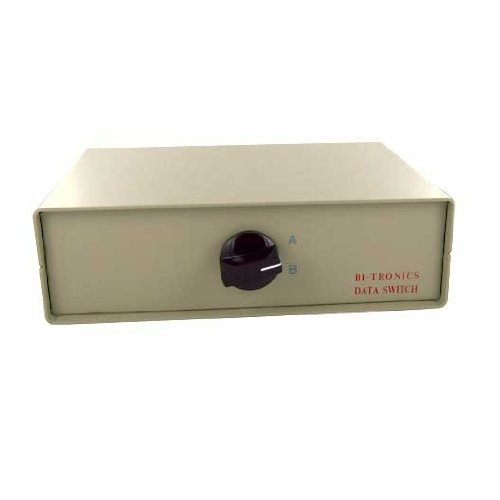 SF Cable, 2-Way IEEE 1284 DB25 Manual Switch Box (Manual Box Switch Db25)