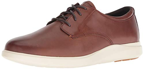 Cole Haan Men's Grand Plus Essex Wedge OX Oxford, Light Coffee/Ivory, 7.5 M US