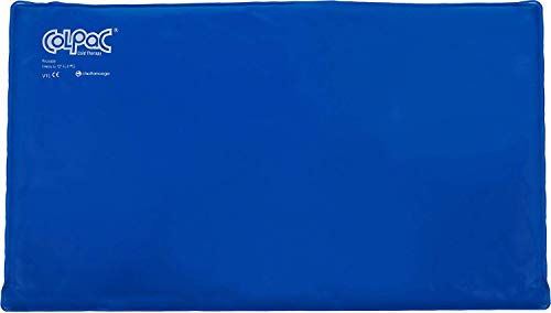 Chattanooga ColPac - Blue Vinyl - Oversize Large Ice Pack - 11 in x 21 in (28 cm x 53 cm) (Patterson Medical Cold Packs)