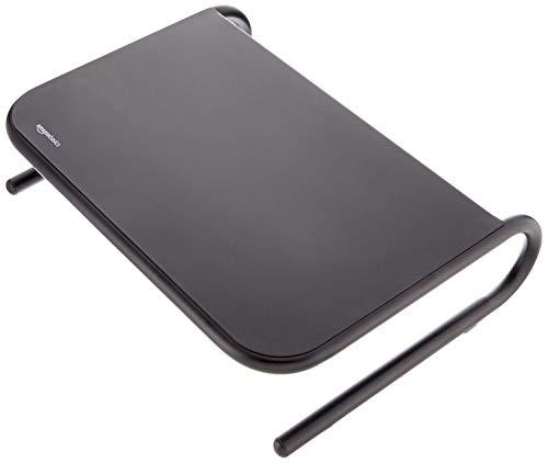 AmazonBasics Metal Laptop Computer Monitor Riser Stand – Black