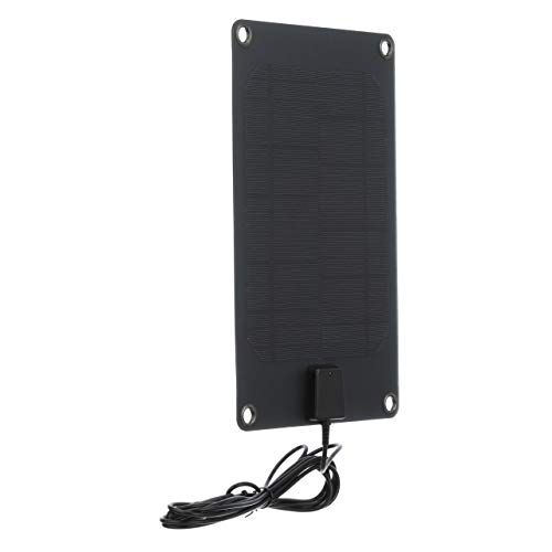 Seachoice 14461 Semi-Flex Solar Panels - High-Efficiency, Weather-Resistant, 12-Volt, 5-Watt.41-Amp