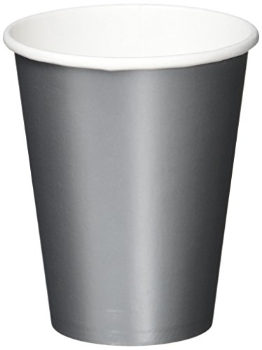 Amscan Silver Paper Cups, 9 Oz., 20 Ct. | Party Tableware -