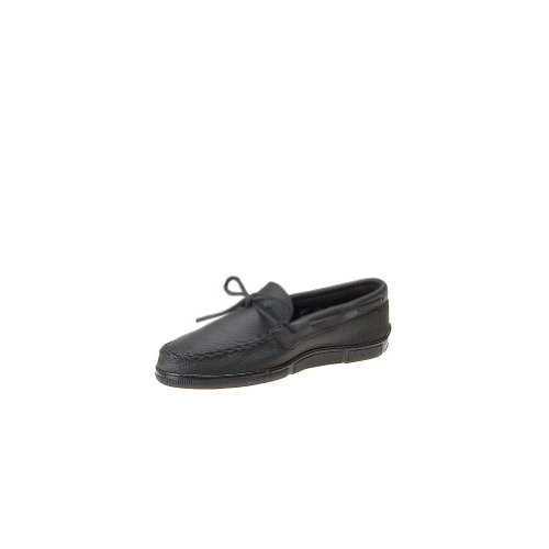 buy cheap view factory outlet online Minnetonka Men's Moosehide Classic Moccasin Black Moose outlet view buy cheap for sale d3TZ62tK