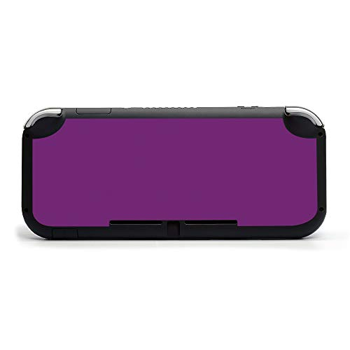 MIGHTY SKINS MightySkins Skin Compatible with Nintendo Switch Lite - Solid Purple | Protective, Durable, and Unique Vinyl Decal Wrap Cover | Easy to Apply, Remove, and Change Styles | Made in The USA