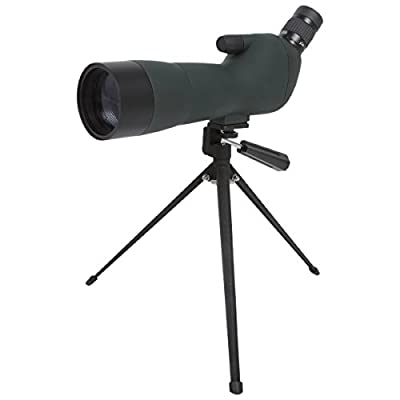 SVBONY Bird Watching Shooting Hunting Outdoor Compact Spotting Scope 20-60x60 FMC Zoom Waterproof Fogproof Shockproof with Tripod and Carry Case from SVBONY