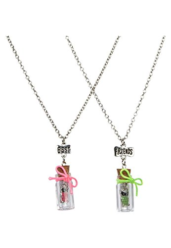 Price comparison product image Justice BFF Owl Bottle Necklaces