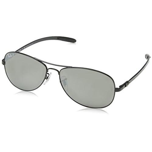 b05b6c2814 30% de descuento Ray-Ban Tecnología carbono fibra aviador gafas de sol en  negro