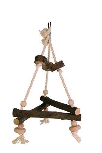Trixie Wooden Triangle Bird Swing 27 X 27 X 27Cm