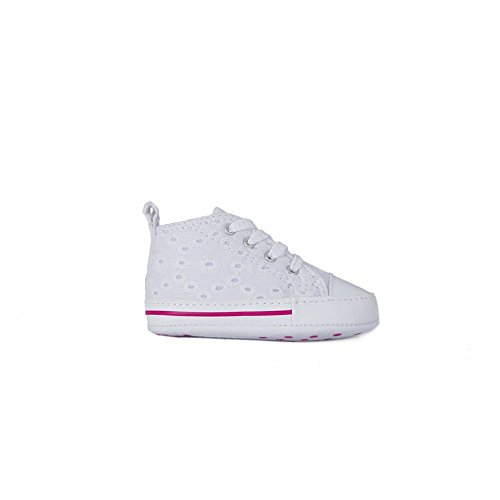 Converse - First Star White - 856832C - Color: White - Size: 1.0 - Baby Converse Shoes Size 1