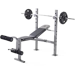 Gold's Gym Xr 6.1 Weight Bench Durable Steel Construction