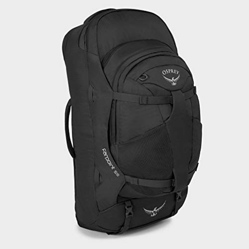 - Osprey Packs Farpoint 55 Travel Backpack, Volcanic Grey, Medium/Large