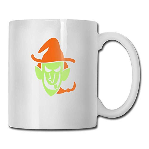 PIHJE mugs Naughty Halloween Witch Tea Cup Novelty Gift for Friends