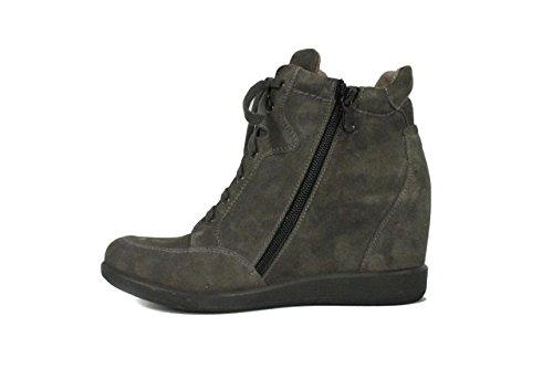 mujer Zapatillas Giardini 55 para Gris gris Nero Carbone qtp4F677wn