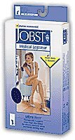 UltraSheer Knee-High Extra-Firm Compression Stockings X-Large, Black (1 Pair) by BSN Medical