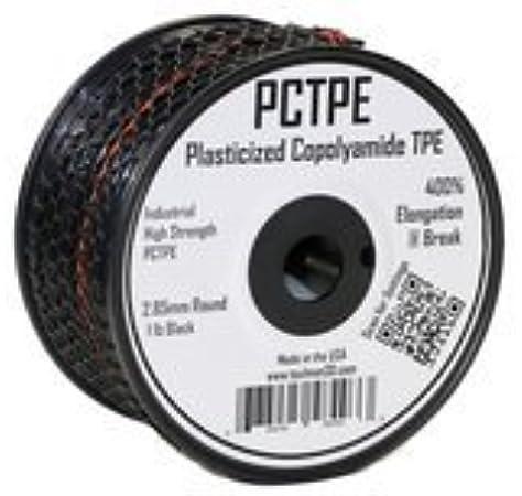 1.75 mm Clear 0.45 kg spool Taulman PCTPE Plasticized Copolyamide TPE Filament