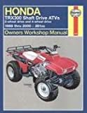 Honda Trx300 Shaft Drive Atvs, Alan Ahlstrand and John H. Haynes, 1563924390