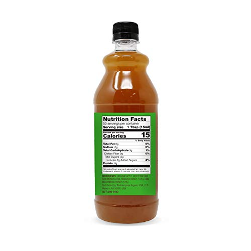 Wedderspoon Apple Cider Vinegar With Monofloral Manuka Honey & The Mother, 25 fl oz 2