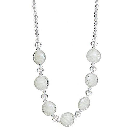"""Lova Jewelry """"Ice Crystals"""" Hand-Blown Venetian Murano Glass ()"""