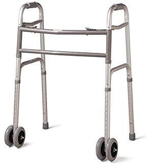 32' Contoured Pad - MediChoice Walker, Adjustable 31'-38', Aluminum, Bariatric - 600 lbs Capacity, 2867BAR806W (1 Each)