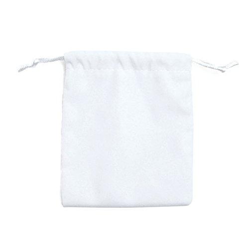 [해외]높은 품질의 액세서리 파우치 [대형 화이 / High Quality Accessory Pouch [Large Whit