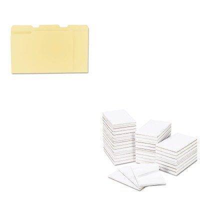KITUNV12113UNV35625 - Value Kit - Universal Bulk Scratch Pads (UNV35625) and Universal File Folders (UNV12113) by Universal