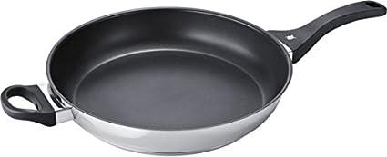 Bosch HEZ390250 Sartén Multiuso - Cacerola (Sartén Multiuso, Negro, Acero Inoxidable, Cerámico