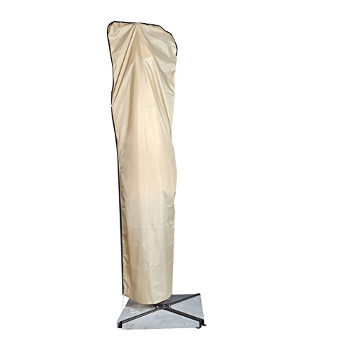 Abba Patio Offset Cantilever Umbrella Cover for 9 to 11 ft umbrellas, with PU coated and FR treatment