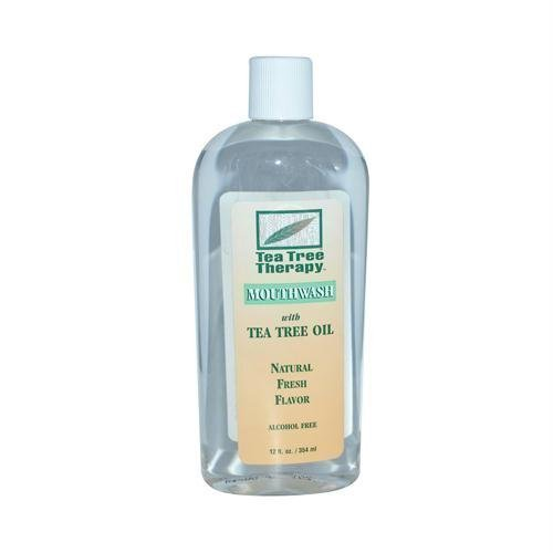 Mouthwash-Tea Tree Alcohol Free - Tea Tree Therapy - 12 oz -