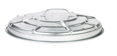 Behrens Replacement Lid for 6-Gallon Locking Lid (Galvanized Trash Can Lid)