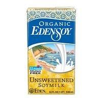(Eden Foods Organic Unsweetened Edensoy ( 12x32 OZ))