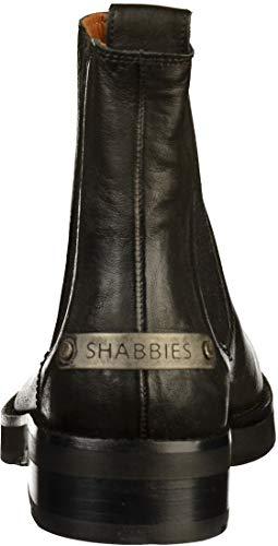 Noir Shabbies 181020122 Amsterdam Femmes Bottine naRIURF