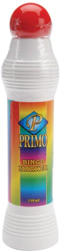 Clarence J. Venne, LLC Primo Bingo Markers 4oz, Red -
