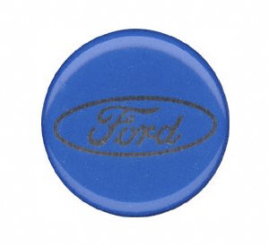 Grant Products 5685 Chrome Button-Ford Script