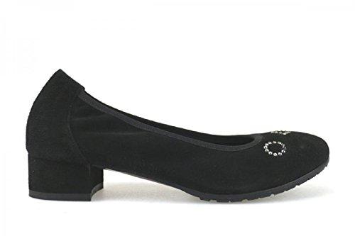 CFP - Zapatillas de danza mujer , color Negro, talla 36 EU(6 cm)