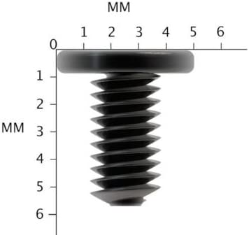24, M3x5mm M3 Laptop Hard Drive HDD Screws Black Wafer Head Screw Fast Ship 3mm 4mm 5mm 6mm RapidSparesLtd