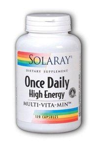 Cheap Solaray Once Daily High Energy Multi-Vita-min Veg Capsules, 120 Count