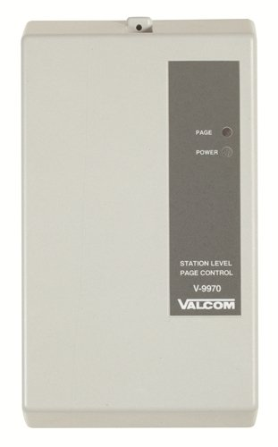 Valcom V-9970 One Way 1 Zone Digital Page Adapter by Valcom