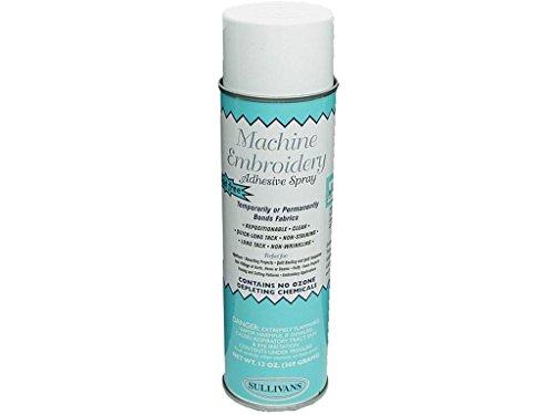 Sullivans Machine Embroidery Adhesive Spray 13oz MachineEmbdyAdhesiveSpray13 ()