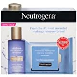 Neutrogena Oil Free Eye Makeup Remover and Cleansing Towelettes -- 12 per case.