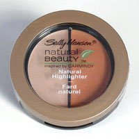 (Sally Hansen Natural Beauty Natural Highlighter Duo, Gold Luster, Inspired by Carmindy, 0.11 Oz.)